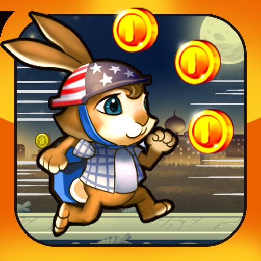 士兵和兔子跑酷 休閒 App LOGO-APP試玩