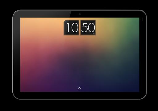 玩個人化App|Dark Card Clock - UCCW Skin免費|APP試玩