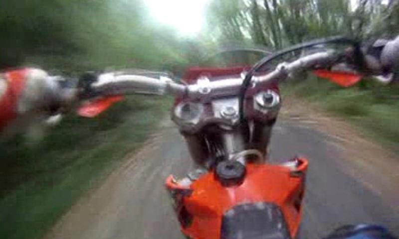 Motocross Forest LWP- screenshot
