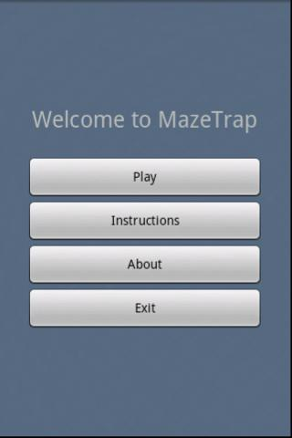 Maze Trap- screenshot