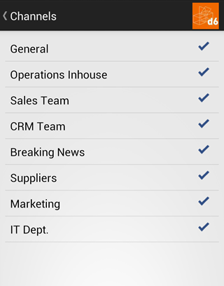 d6 Business Communicator- screenshot