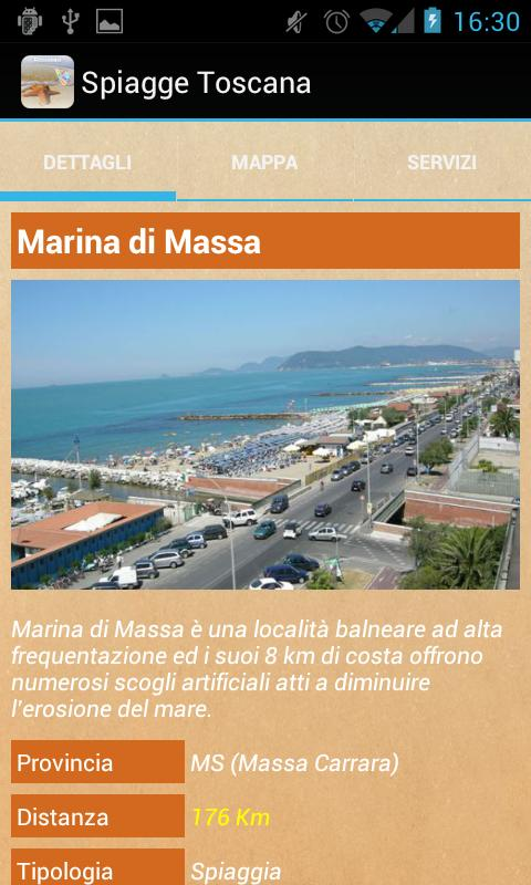 Spiagge Italia Toscana Free- screenshot