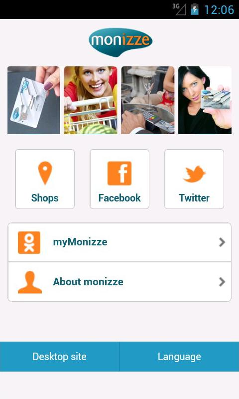 Monizze - screenshot