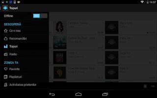 Screenshot of Zonga Music