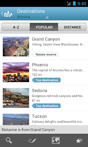 Arizona Guide by Triposo