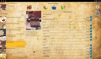 Screenshot of Dessert recipes