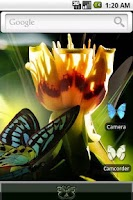 Screenshot of aHome Theme: Butterfly