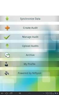 ISO audit manager on cloud- screenshot thumbnail