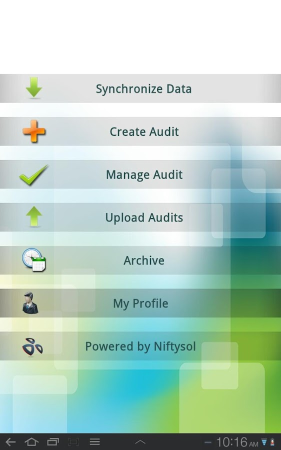 ISO audit manager on cloud- screenshot