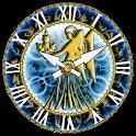 zZodiac Virgo clock! logo