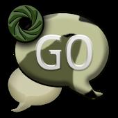 GO SMS THEME/CamouflageCamo