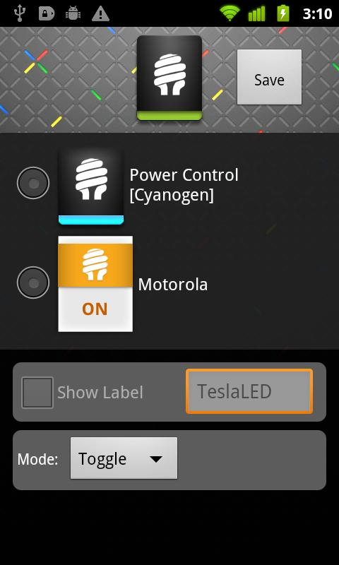 TeslaLED Flashlight Donate Screenshot 3