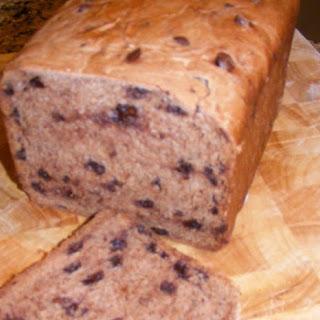 Chocolate Chip Bread Machine Bread Recipes.