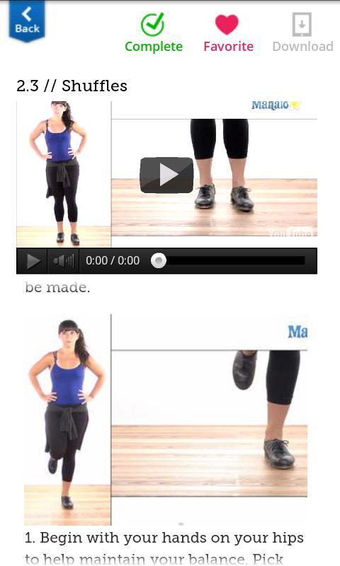 How To Tap Dance - screenshot