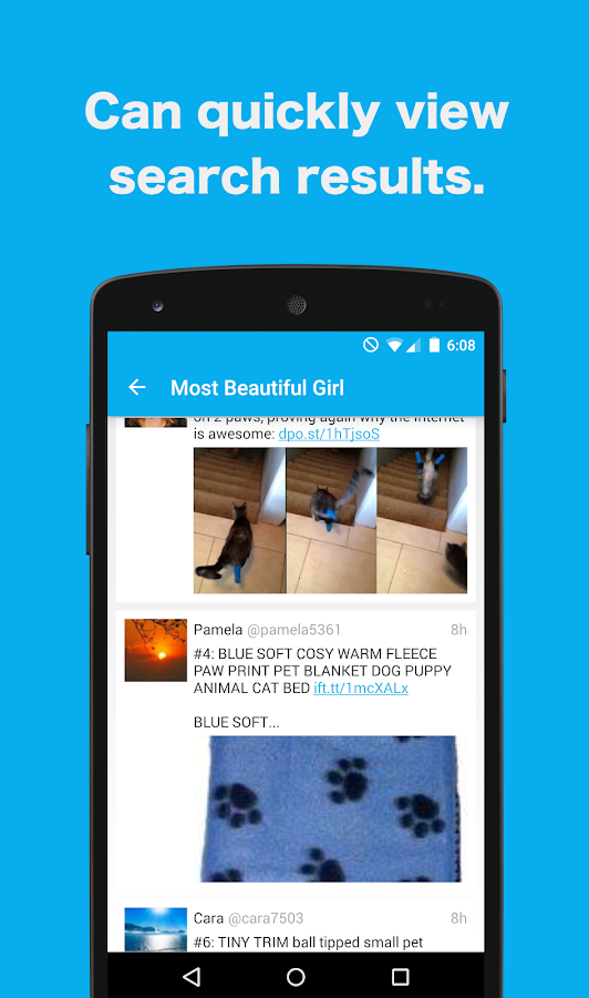 TweeTopi-Twitter Search&Share- screenshot