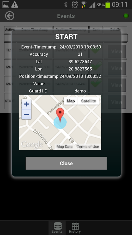 Kerveros Qr Patrol Guard Tour Android Apps On Google Play