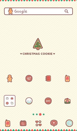 christmas cookie 도돌런처 테마