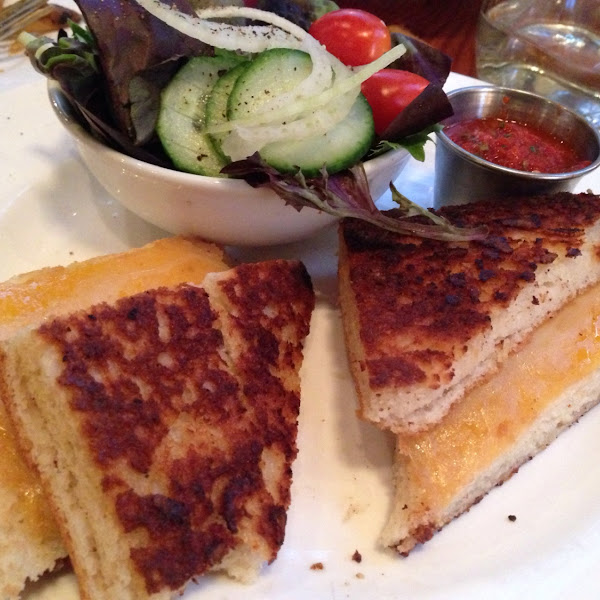 Grilled cheese. Yum.