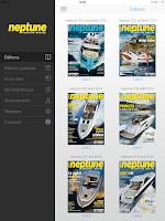 Screenshot of Neptune Yachting Moteur