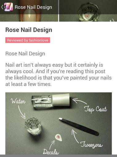 DIY Nail Art Design Tutorial