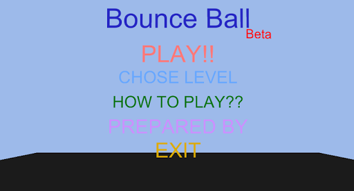 Bounce Ball Beta