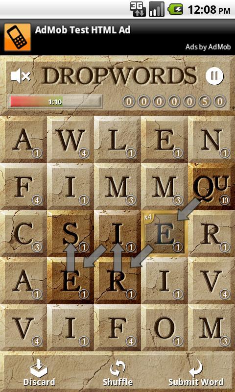 Dropwords Android