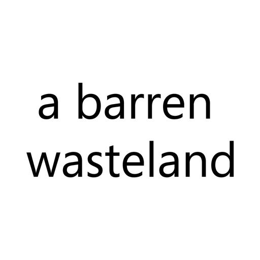 a barren wasteland LOGO-APP點子