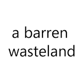 a barren wasteland - text rpg