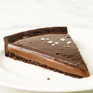Chocolate Caramel Tarts.
