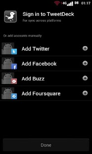 TweetBlackGray Tweetdeck Free - screenshot thumbnail
