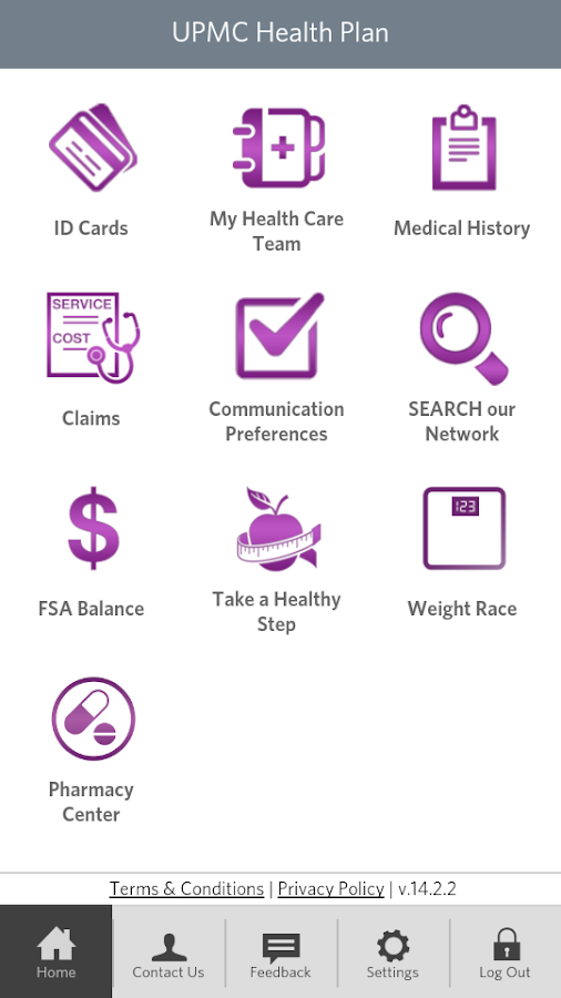 UPMC Health - screenshot
