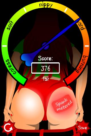 Spanking Meter - screenshot