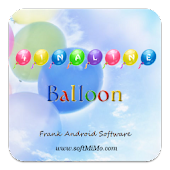 4 In A Line Balloon Free