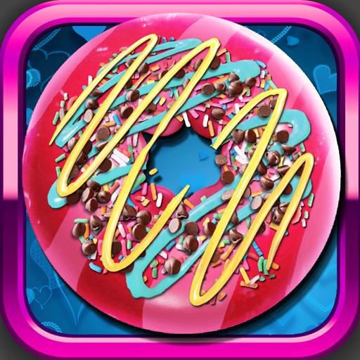甜甜圈機模擬遊戲 家庭片 App LOGO-APP試玩