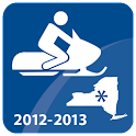 Snowmobiling New York State logo