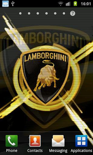 Lamborghini 3D Live Wallpaper v1.0 Cracked