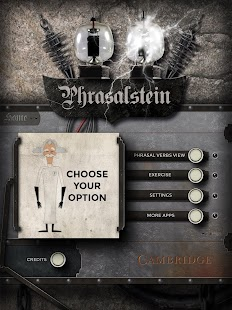 Phrasalstein Tablet - screenshot thumbnail