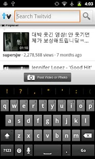 Twitvid- screenshot thumbnail