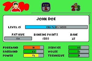 Screenshot of Tennis Sim Manager (no Ads)