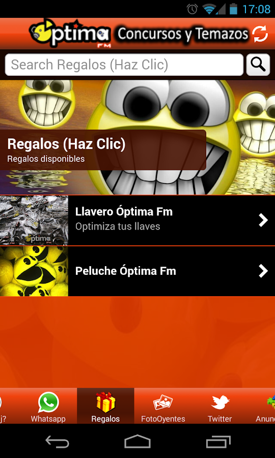 OPTIMA FM RADIO - screenshot