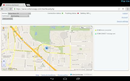 Cerberus anti theft Screenshot 2