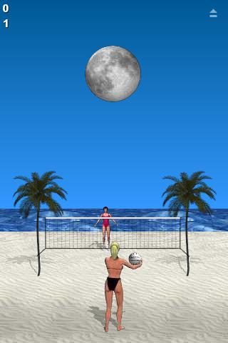 Beach Volleyball Lite screenshot