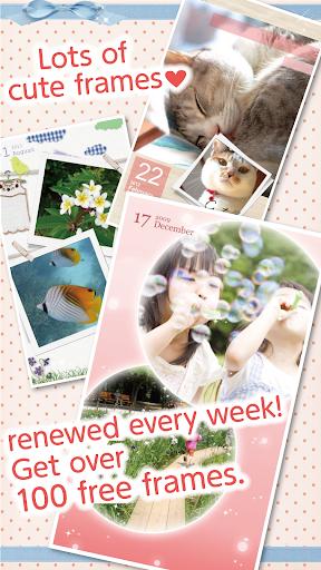 超简单拼贴•MIRU Photobook!可爱相框+贴图