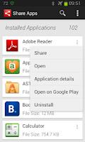 Screenshot of Share Apps