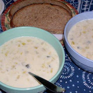 Colonial Potato Leek Soup