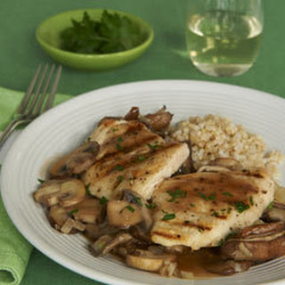 Skillet Chicken With Marsala & Mixed Mushrooms