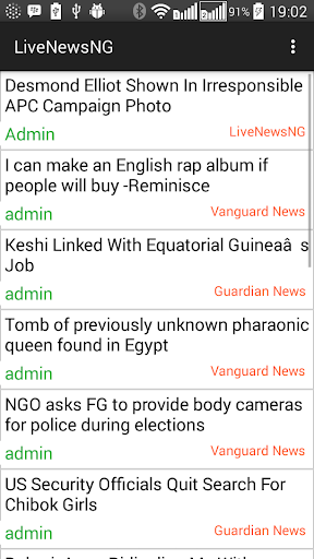Live News Nigeria