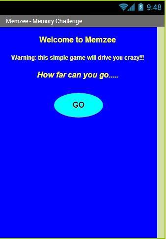 Memzee - Memory Brain Training