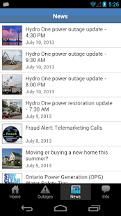 Hydro One Mobile- screenshot thumbnail