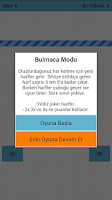 Screenshot of Kelime Oyunu : Harf Yağmuru